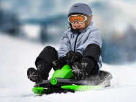 Gizmo Riders: Steerable Sledge with Brake