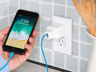 Everlet: Anchoring Wall Plate for Phone Charger