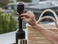 Aervana: One-Touch Electric Wine Aerator