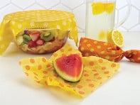 Mortier Pilon: Reusable Beeswax Food Wraps - Set of 3