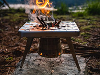 nCamp: Compact Multi-Fuel Backpacking Stove