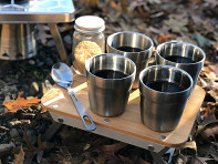 nCamp: Stainless Steel Camping Cups