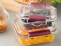 Kilner?: Locking Glass Food Storage Containers - Set of 3