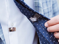 CLIP OFF?: Magnetic Invisible Tie Stay