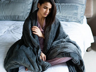 Hush Blankets: Classic Weighted Blanket with Cover