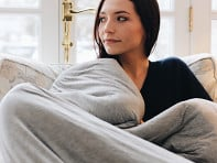 Hush Blankets: Cooling Weighted Blanket with Cover