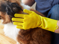 FurZapper: Silicone Pet Grooming Glove