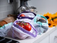 Lotus Trolley Bag: Reusable Produce Bags - Set of 9