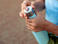 CrazyCap: Portable Water Bottle Sterilizing Cap