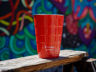 Pirani Life: Reusable Party Cup with Lid