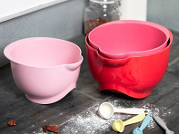 Bamboozle Home: Biodegradable Plastic Mixing Bowls