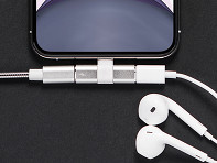 Anchor Labs: iPhone Charger Headphone Splitter