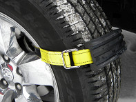 Trac-Grabber: Tire Traction Straps