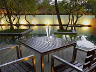 Anywhere Fireplace: Stainless Steel Garden Torch