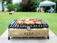 Fire & Flavor: HERO? Portable Charcoal Grill