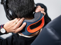 bullbird: BR2 Ergonomic Headrest Travel Pillow