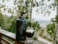 TrailKeg: Pressurized Growler with Tap Kit
