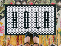 Letterfolk: Customizable Floor Mat