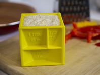 The Kitchen Cube: All-in-1 Measuring Cube