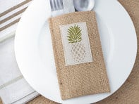 Cutlery Couture: Silverware Pouch - Set of 8