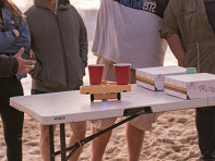 BRUU: Moving Beer Pong Robot