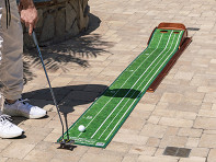 Perfect Practice: Professional Indoor Putting Green