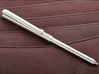 The Wallet Pen: Sterling Silver Pens