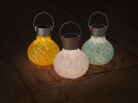 Allsop Solar Lighting: Solar Glass Tea Lantern