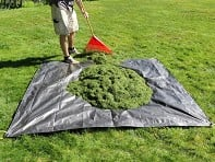 Allsop Garden: Clean-Up Canvas Tarp with Handles