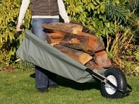 Allsop Garden: WheelEasy Foldable Canvas Wheelbarrow