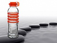 bottlesUp: 16 oz. Glass Water Bottle