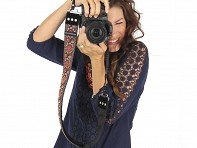"Capturing Couture: 2"" Camera Strap"