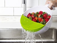 Soak and Strain: Produce Washing Bowl