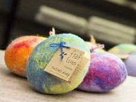 Fiat Luxe: Felted Soap