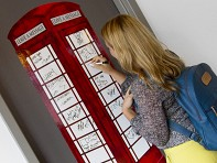 WallPops: London Phone Booth