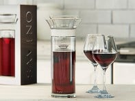 Savino: Glass Wine Saver Carafe