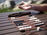 Sondergut: Roll-Up Travel Backgammon