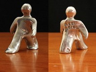 "Set of 2 ""Keep Going"" Figurines"
