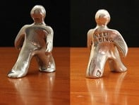 "Tamara Hensick Designs: Set of 2 ""Keep Going"" Figurines"