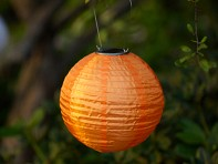 Allsop Solar Lighting: Soji Solar Nylon Lantern