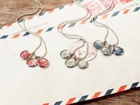 Postali: Authentic Stamp Necklaces
