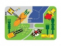 Construction Worksite Placemat