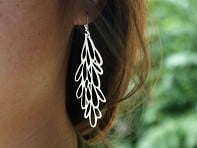 Pop-Out Jewelry: Starburst Earrings