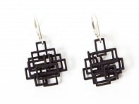Melissa Borrell: Circuit Dangle Earrings