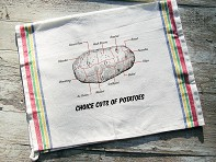 Tea Towel - Choice Cuts of Potato