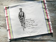 Tea Towels - Einstein Bicycle