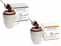My Cup of Cake: Souffle Cake in a Mug (Set of 2)
