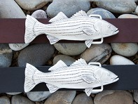 Wind & Waves: Handcrafted Belt Buckle with Belt