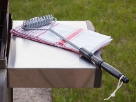 Brushtech: Double Helix Grill Brush - 21""