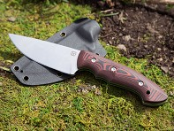 Klecker Knives: Abiqua Hunting Knife